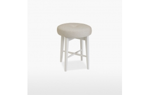 Bedroom stool (seat in leather) Elise