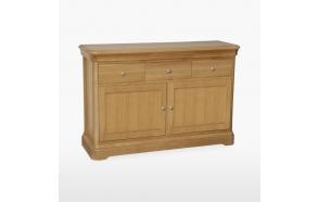 Small 2 door 3 drawer sideboard