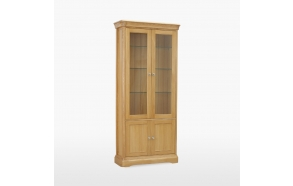 Glassed Bookcase with 2 doors