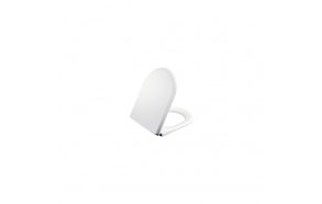 AMASRA SOFT CLOSING SEAT COVER WITH METAL HINGE WHITE TP325, DREAM,VITROYA,MOON