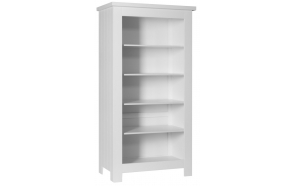 Barcelona - large bookcase, white
