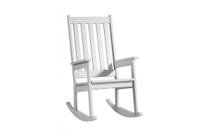 Rocking-chair, white