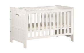 Cot-bed Blanco 140x70, beige