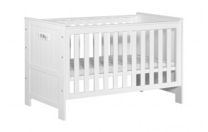 Cot-bed Blanco 140x70, white without drawer