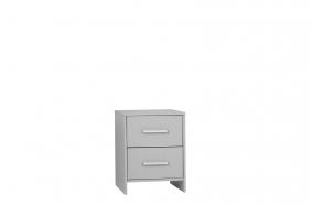 Calmo - desk cabinet, grey