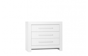 Calmo - 3-drawer chest, white