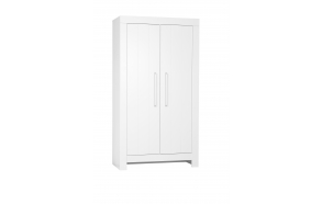 Calmo - 2-door wardrobe, white
