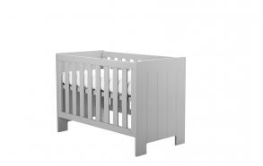 Calmo - cot 120x60, grey