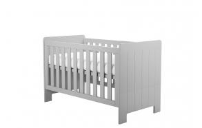 beebivoodi-voodi Calmo 140x70 cm, voodikast ei kuulu hinna sisse, hall