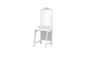 Parole - dressing table, white