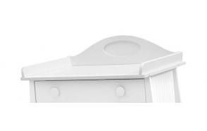Parole - removable changing unit, white