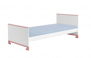 Toto - bed 200x90,white+pink