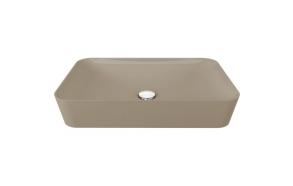 worktop wahbasin Ultra, mat cappucino