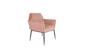 Armchair Kate Pink Clay