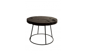 Side Table Kraton Chocolate Black