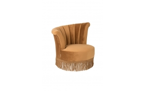 Lounge Chair Flair Golden Brown