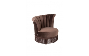 Lounge Chair Flair Dark Brown