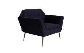 Lounge Chair Kate Deep Blue