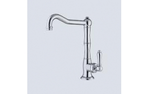 kitchen mixer , raw brass
