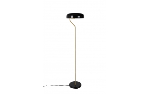 Floor Lamp Eclipse Black