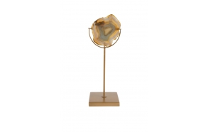 Candle Holder Gem Yellow