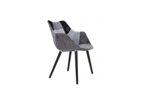 Armchair Twelve Patchwork Grey