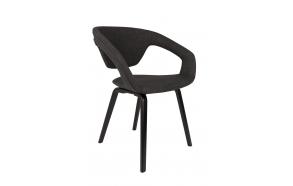 käetugedega tool Flexback, must/tumehall