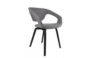 käetugedega tool Flexback, must/hall