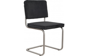 Chair Ridge Brushed Rib Black 7A