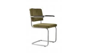 käetugedega tool Ridge Rib, roheline 25A