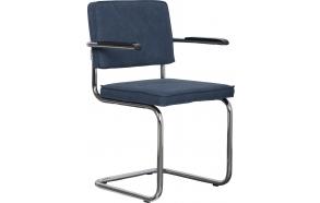 käetugedega tool Ridge Vintage, sinine