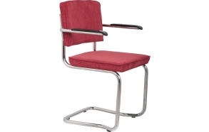Armchair Ridge Kink Rib Red 21A