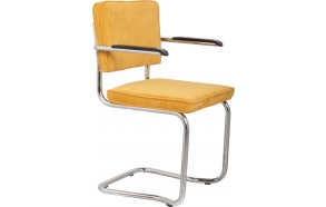 Armchair Ridge Kink Rib Yellow 24A