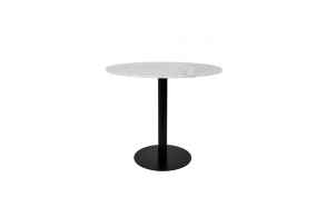 Table Marble King 90'  Black