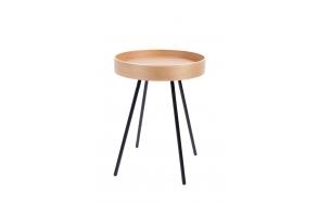 Side Table Oak Tray