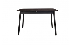 Table Glimps 120/162X80 Black