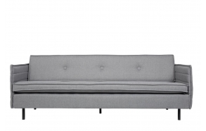 Sofa Jaey 3-Seater Comfort Light Grey 91