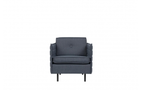 Sofa Jaey 1-Seater Comfort Grey/Blue 81