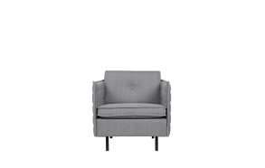 Sofa Jaey 1-Seater Comfort Light Grey 91