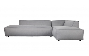 Sofa Fat Freddy Right Comfort Light Grey 91