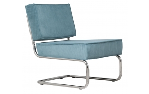 Lounge Chair Ridge Rib Blue