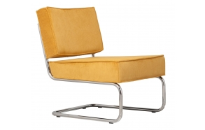 Lounge Chair Ridge Rib Yellow
