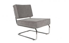 Lounge Chair Ridge Rib Cool Grey
