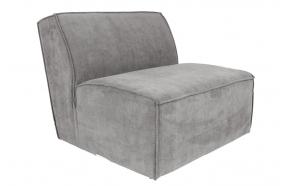 Element Sofa James Rib Cool Grey