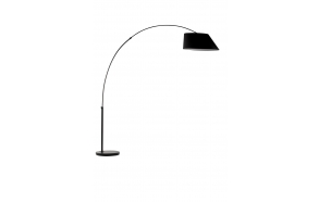 Floor Lamp Arc Black