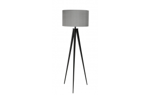 Floor Lamp Tripod Black/Grey