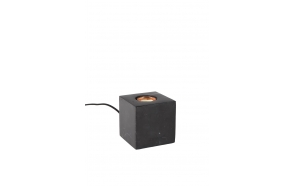 Table Lamp Bolch Marble Black