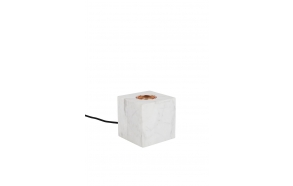 Table Lamp Bolch Marble White