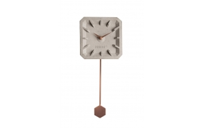 Clock Tiktak Time Copper