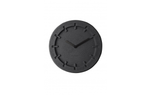 Clock Pulp Time Round Black